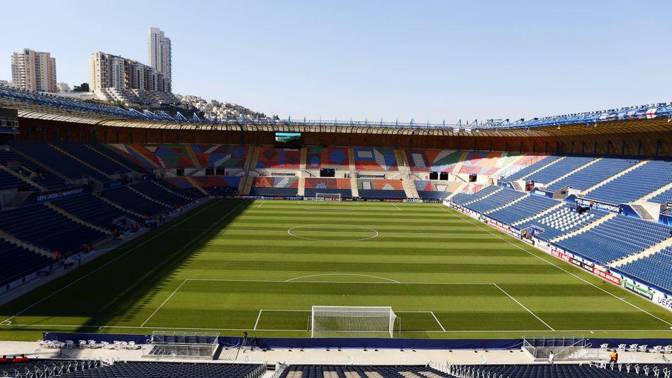 Das Teddy-Stadion in Jerusalem. Die Fifa hält eine WM im Nahen Osten für möglich