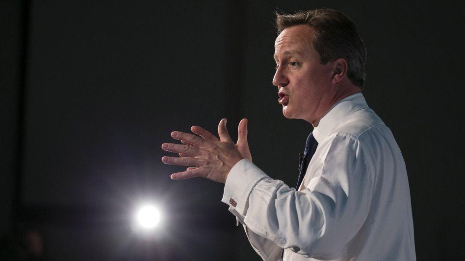 Der britische Premier David Cameron: Erst Anfang der Woche Frankreich für Exporte kritisiert