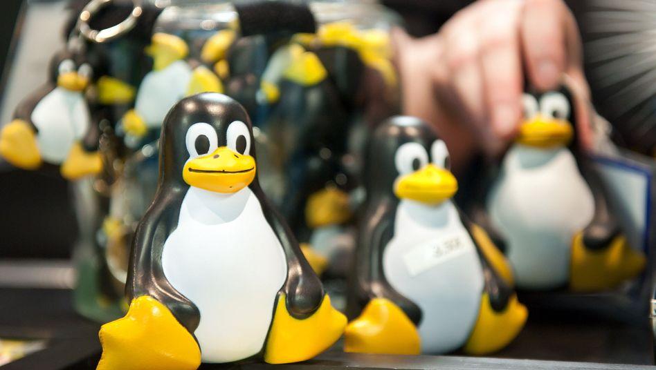 Der Pinguin Tux ist das Maskottchen von Linux