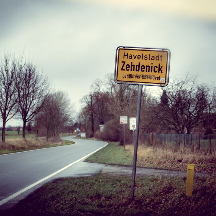 Strassenszene in Zehdenick