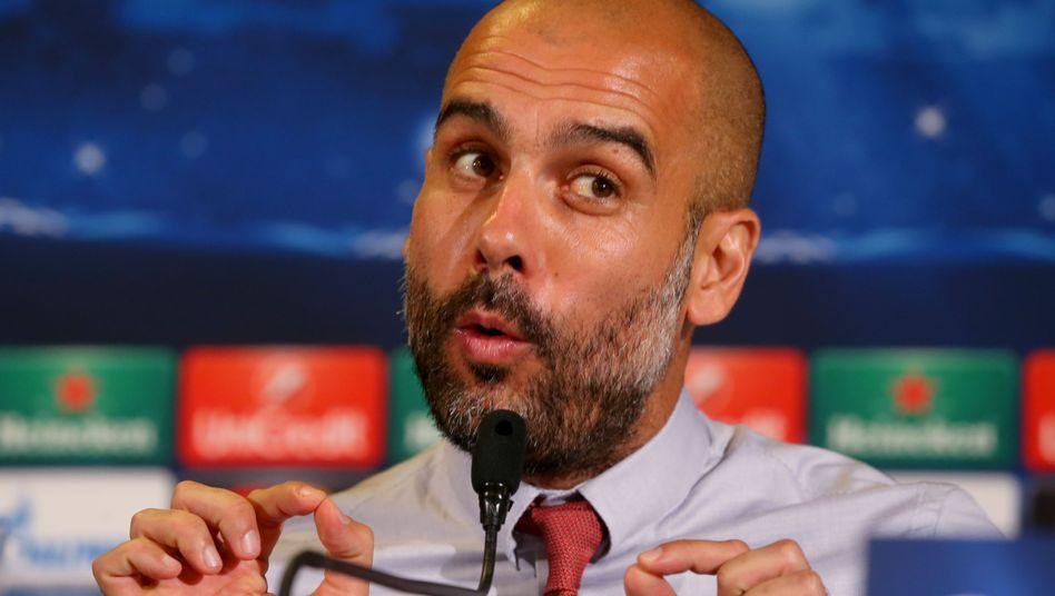 """Bayerns Trainer Guardiola: """"Schritt Richtung Achtelfinale machen"""""""