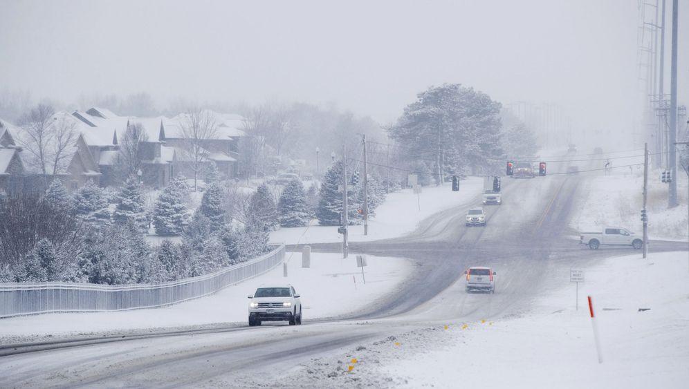 """US-Kälte: """"Arktische Winde"""" im Mittleren Westen"""