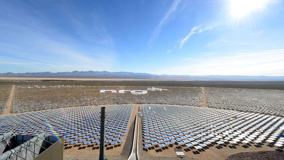 Solarkraftwerk Ivanpah: Die Energie der Sonne nutzen