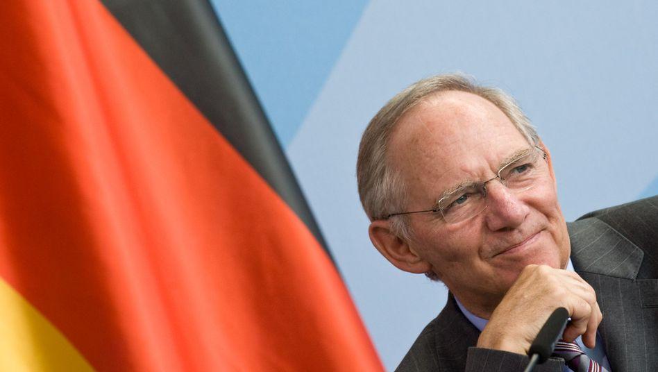 """Finanzminister Wolfgang Schäuble: """"Am Sparkurs führt kein Weg vorbei"""""""