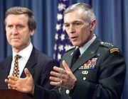 Ex-Minister Cohen, General Clark: Das Misstrauen bleibt