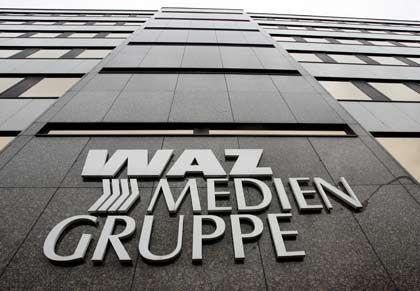 Verwaltung der WAZ-Mediengruppe in Essen: Print verliert, Online gewinnt