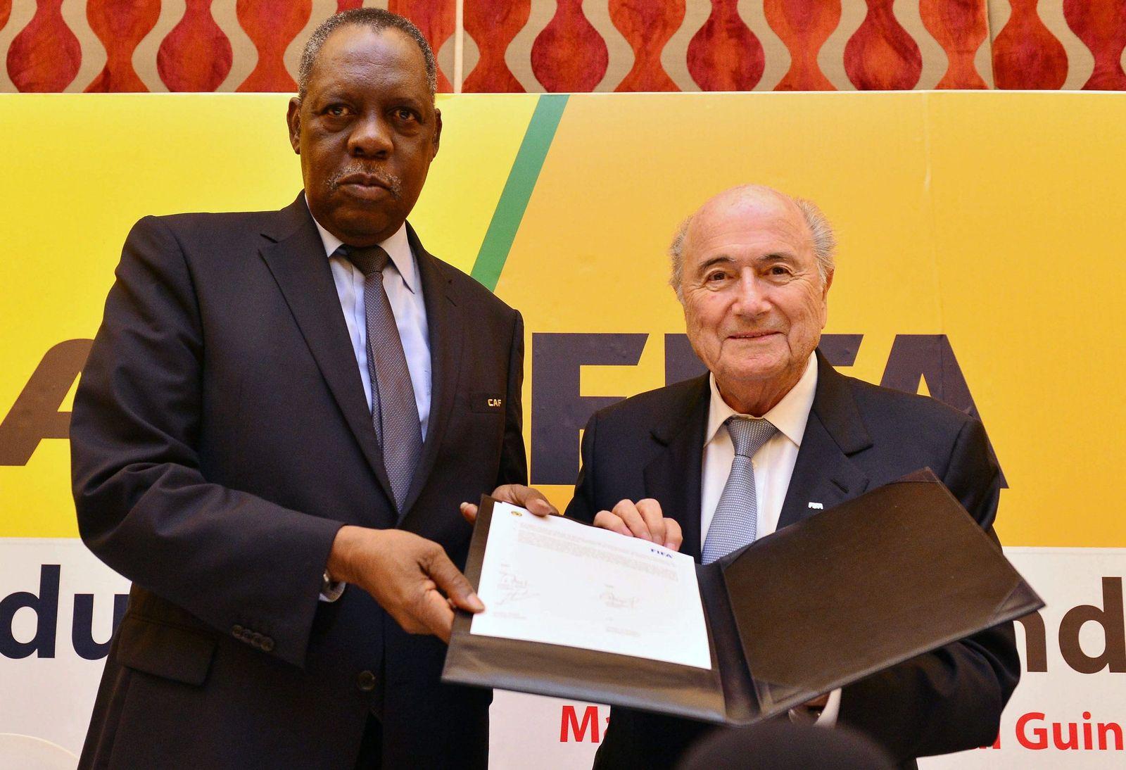 CAF, FIFA sign memorandum of understanding