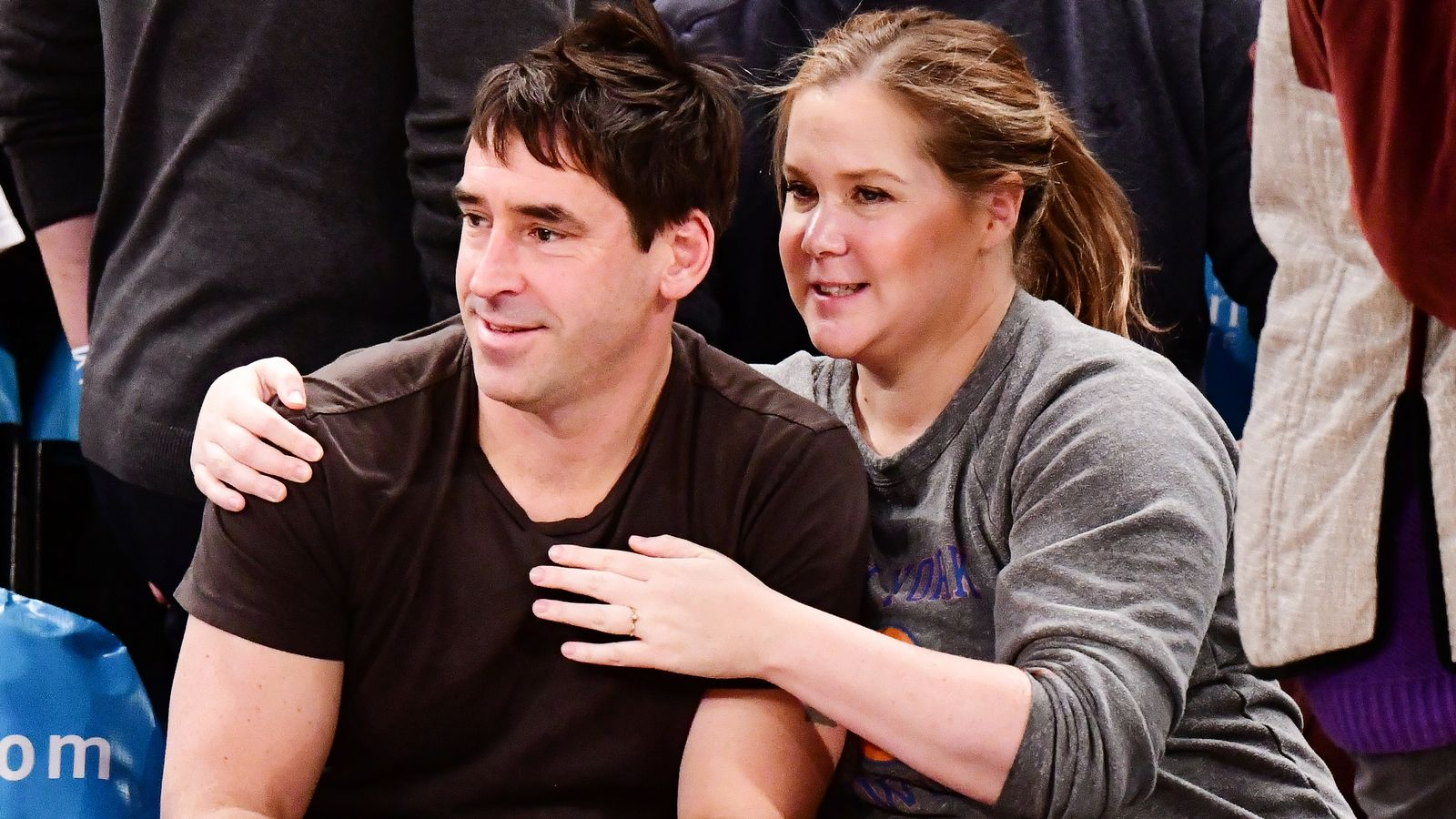 Celebrities Attend Washington Wizards v New York Knicks Game