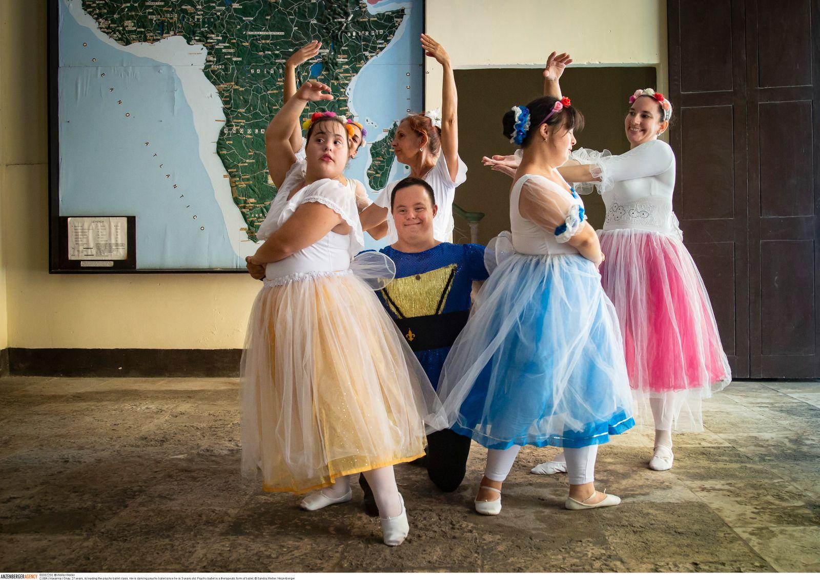ballett in havanna: wie tanzen einem jungen mann mit down