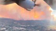 Flug übers Feuer