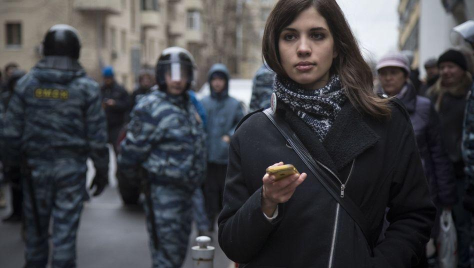 Aktivistin Tolokonnikowa: Plädoyer für eine Protestkultur