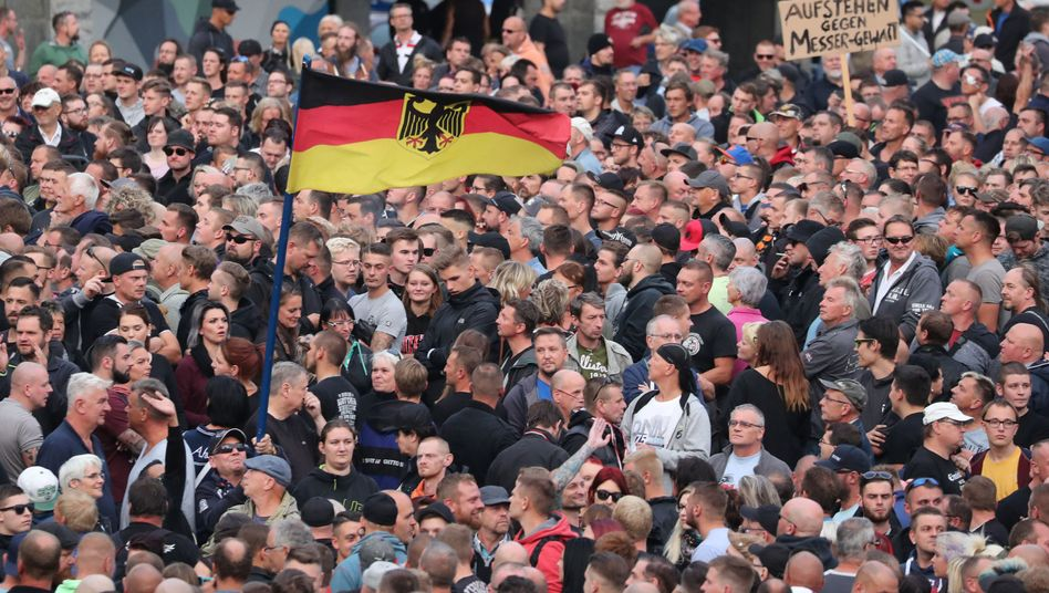 Pro-Chemnitz-Demonstration in Chemnitz