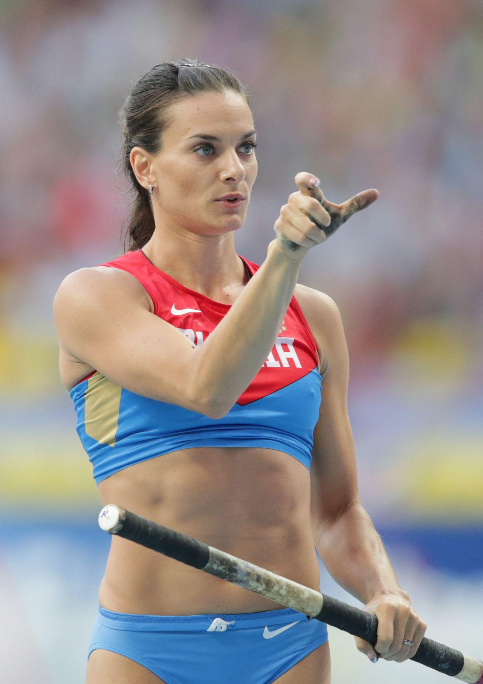 Leichtathletik-WM Issinbajewa