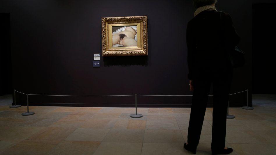 "Courbet-Gemälde ""Der Ursprung der Welt"" im Pariser Musée d'Orsay: Radikale Geste"