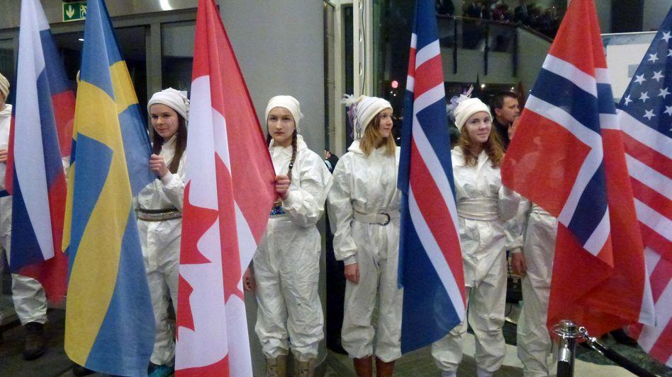 """Fahnenparade in Tromsø: """"Das bringt die Stabilität"""""""