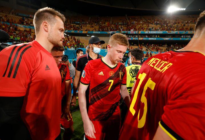 Kevin De Bruyne könnte gegen Italien die Fitness fehlen