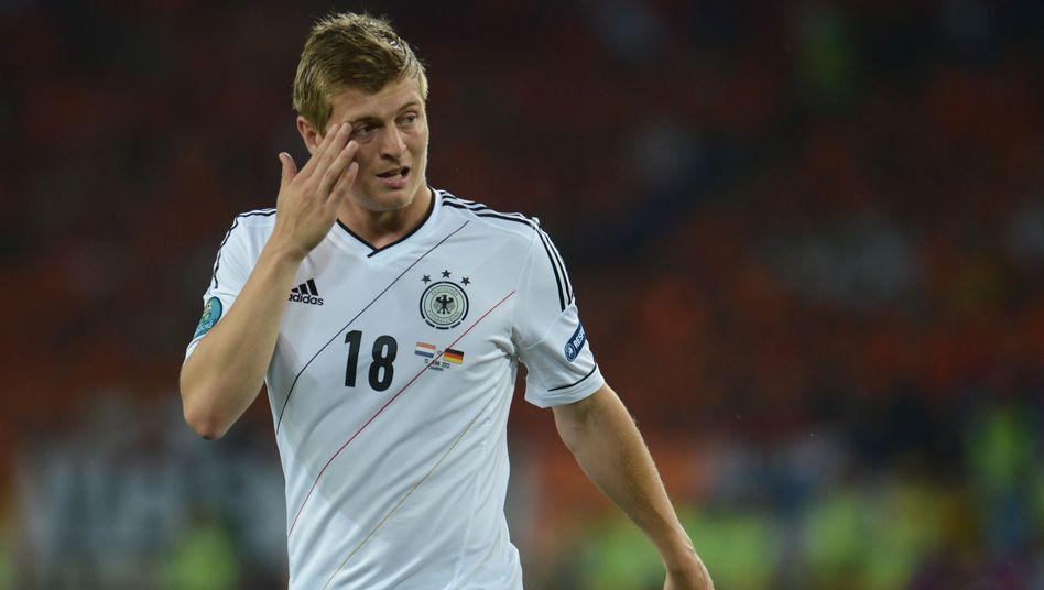 Nationalspieler Kroos: Wegen einer Beckenprellung nicht dabei