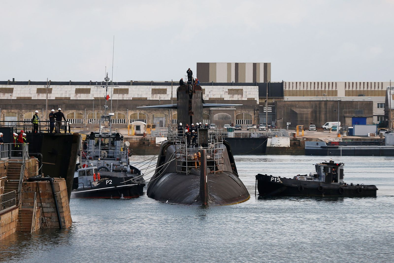 FRANCE-INDUSTRY-NAVAL-DEFENCE-SUBMARINE-DECONSTRUCTED