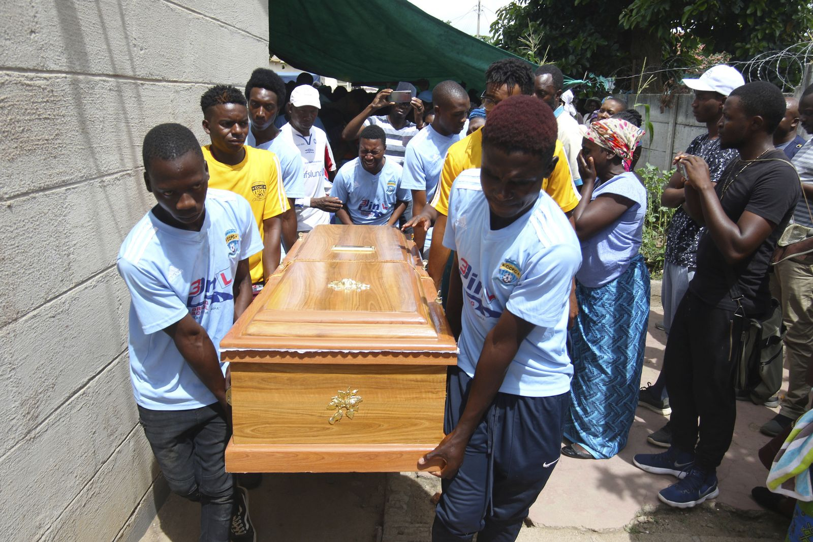Simbabwe Beerdigung