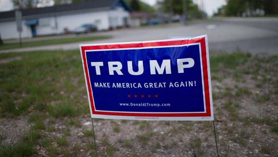 """Trump-Wahlplakat: """"Amerika wieder großartig machen"""""""