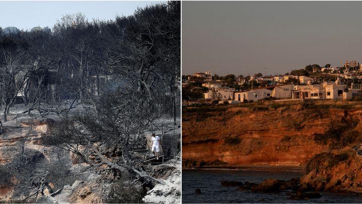 brände griechenland 2019