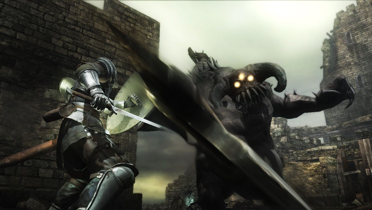 NUR ALS ZITAT Screenshot Demon Souls/ Sony/ Pressebild