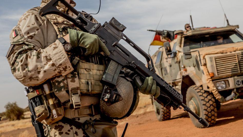 Soldat der Bundeswehr in Mali (Archivfoto von 2018)