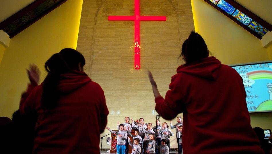 Christen im chinesischen Qingdao: Sie dürfen Gottesdienste feiern, aber unter Kontrolle