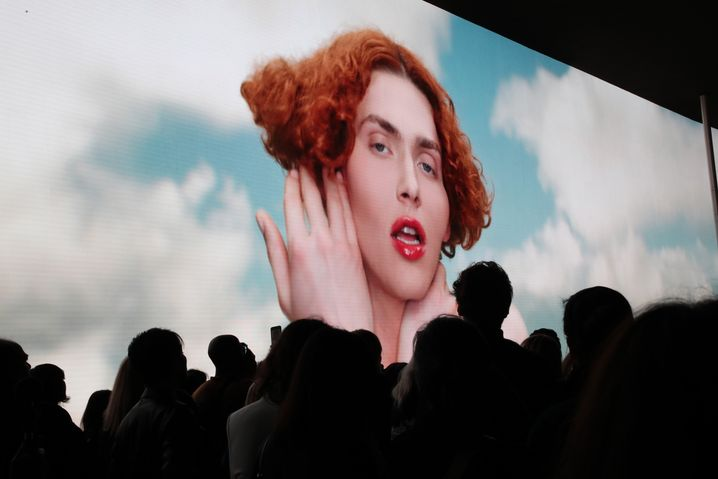 SOPHIE-Show bei der Pariser Fashion Week im Oktober 2019