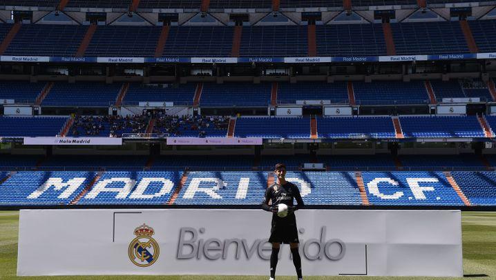 Real Madrid 2018/2019: Ein neuer Torwart und ein 18 Jahre alter Hoffnungsträger