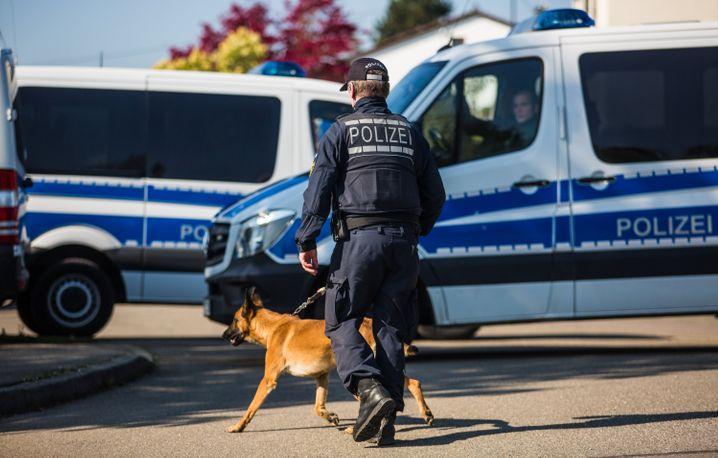 Polizeieinsatz in Rottenburg (Baden-Württemberg)