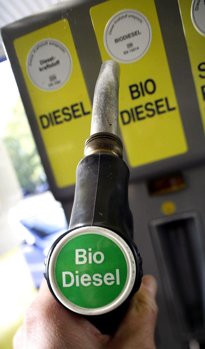 Zapfpistole für Biodiesel