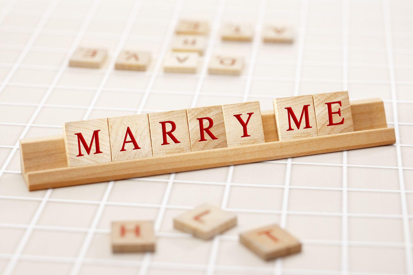 NICHT MEHR VERWENDEN! - Scrabble/ Heiratsantrag