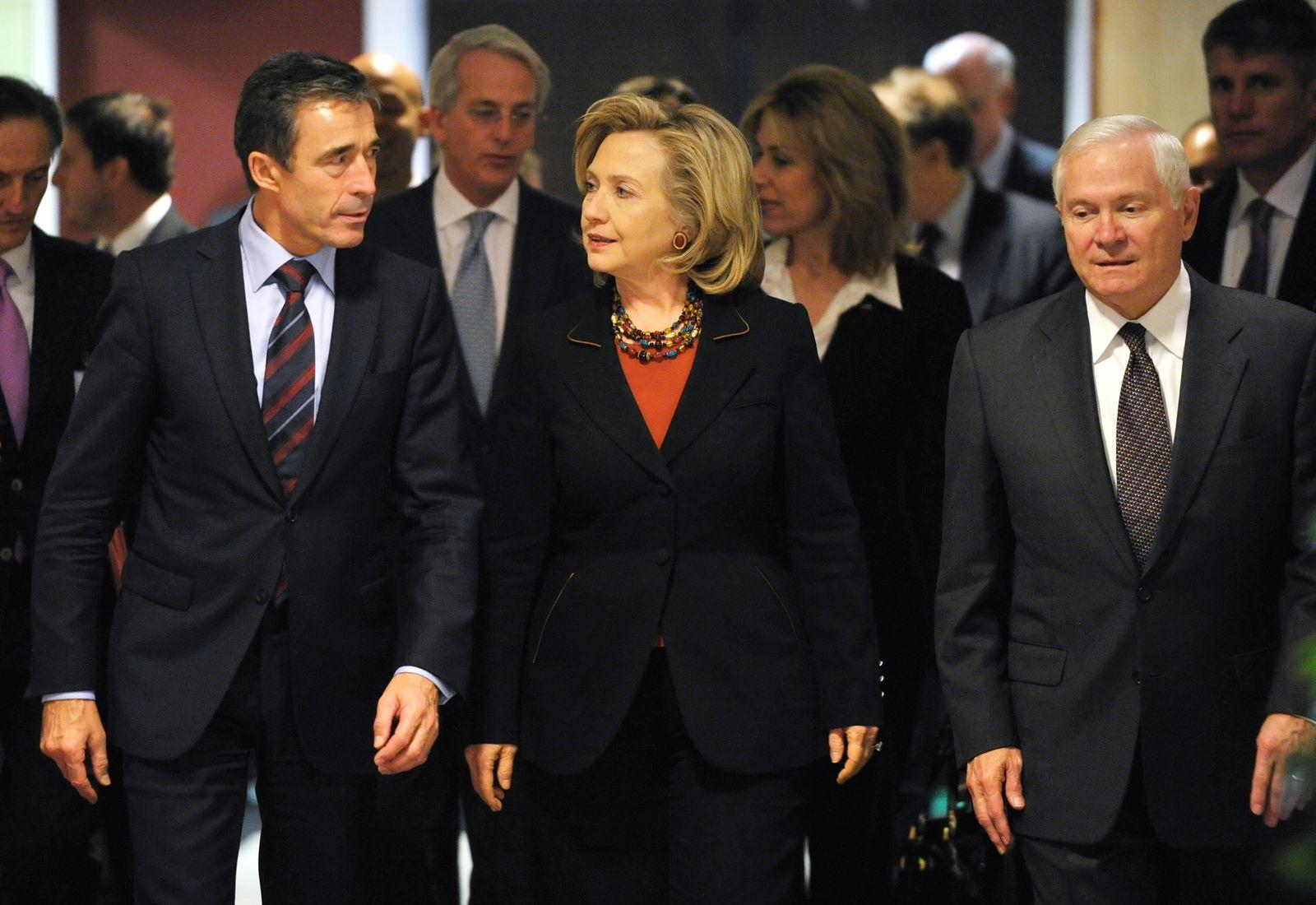 BELGIUM-NATO-US-CLINTON