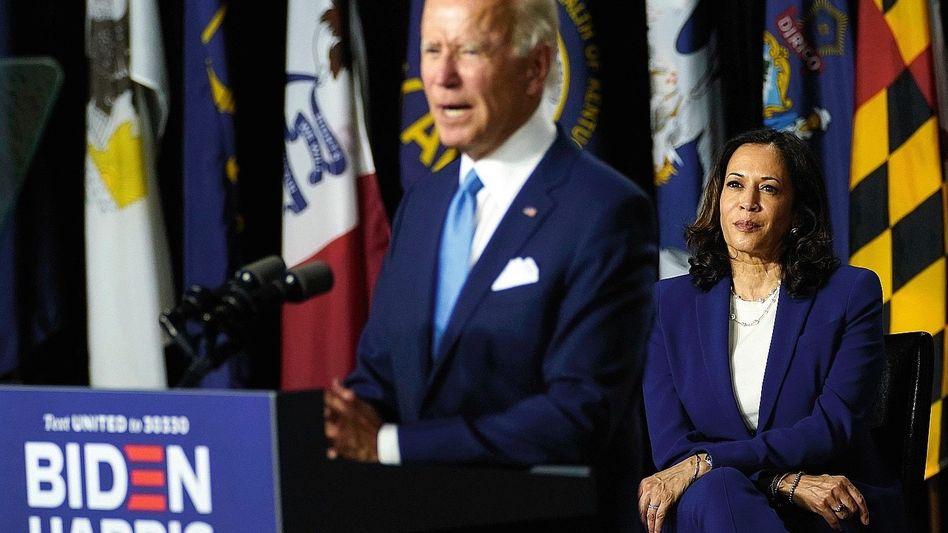 Demokraten Biden, Harris:Die Härte, die es im Washingtoner Nahkampf braucht