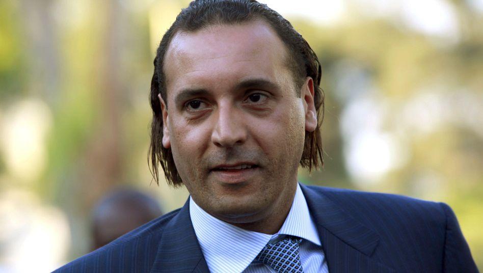 Geschäftsmann Hannibal al-Gaddafi (Archiv): Nach dem Arabischen Frühling zunächst nach Algerien geflohen
