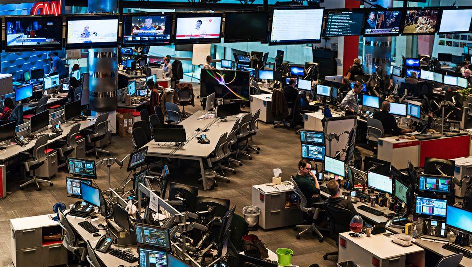 """US-Newsroom: """"Die Medien haben weiterhin Schwierigkeiten damit, die Veröffentlichung gestohlener Dokumente in einen Kontext zu stellen"""""""