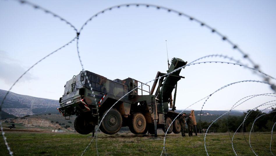 """""""Patriot""""-Abwehrstaffel der Bundeswehr im südtürkischen Kahramanmaras: Abzug geplant"""