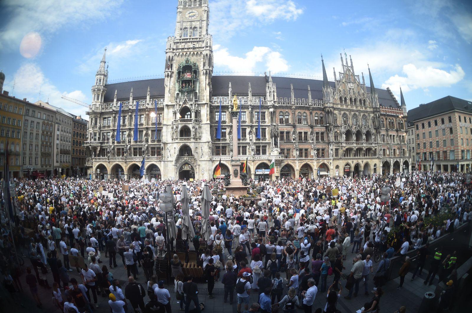 Coronavirus - Demonstration in München