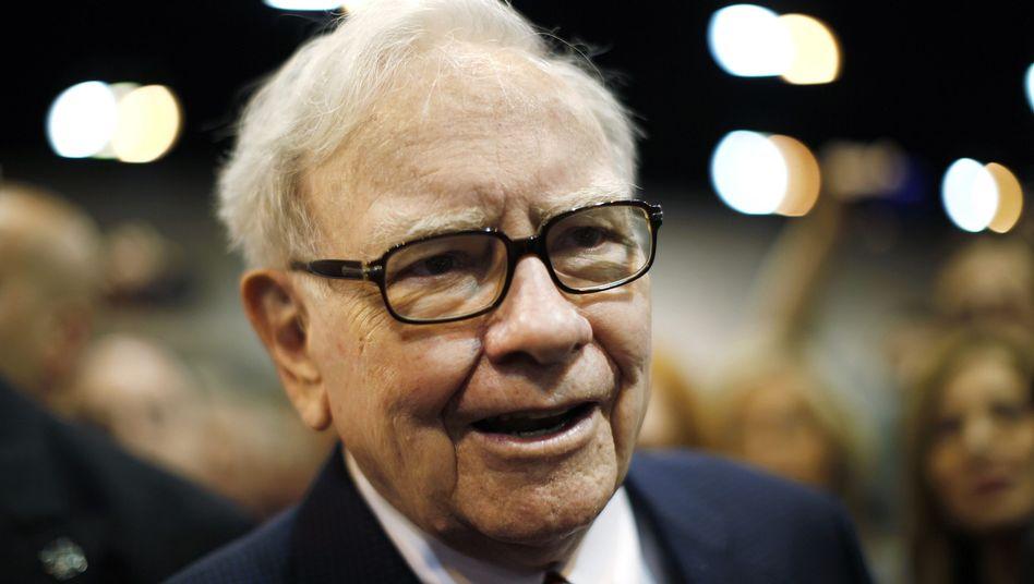 Investorenlegende Warren Buffett: Gute Zahlen für das Aktionärstreffen