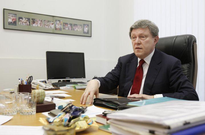 Grigorij Jawlinskij: Viele bürgerliche Protestwähler laufen zu den Kommunisten über
