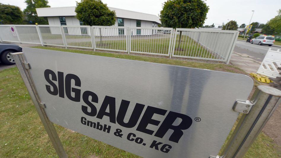 Zentrale von Sig Sauer in Eckernförde: Schließung bis Jahresende