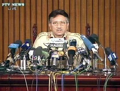 Volle Unterstützung für die USA: Pervez Musharraf