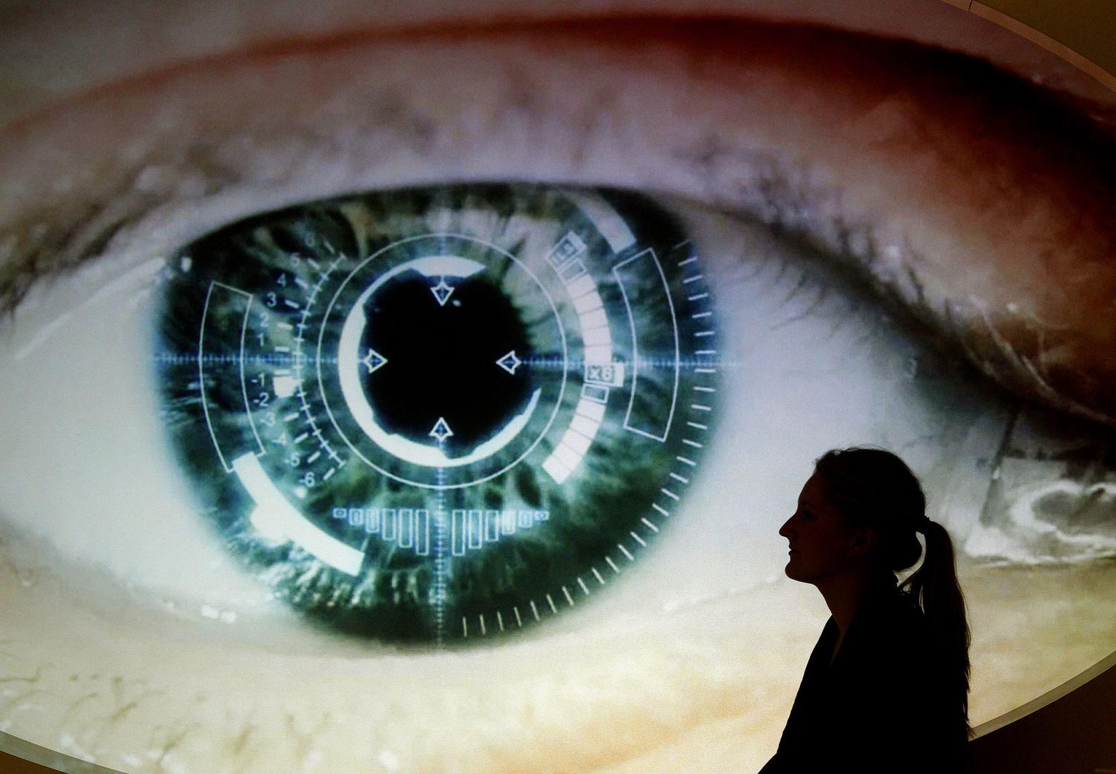 EINMALIGE VERWENDUNG NICHT BESCHNITT ÄNDERN Spionageausstellung Top Secret Auge Überwachung