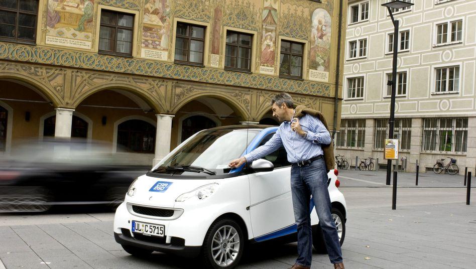 Car2Go-Smart in Ulm: Knapp 18.000 Kunden haben sich registriert