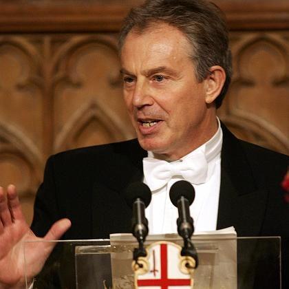 In Bedrängnis: Premier Tony Blair