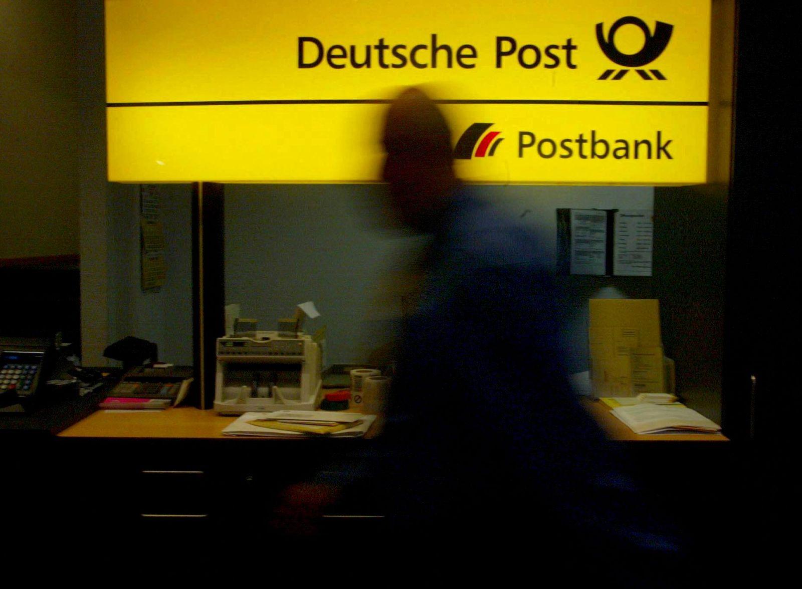 NICHT VERWENDEN Postbank