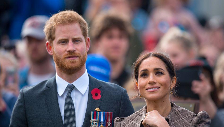 Prinz Harry und Herzogin Meghan (Archivbild): »Intime Unterhaltung«