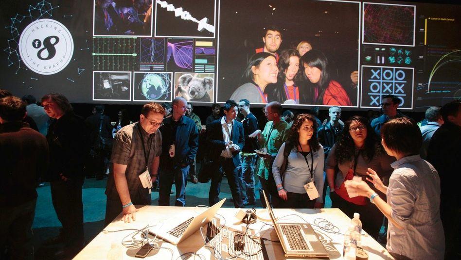 Facebook-Konferenz in San Francisco: Bald eine Milliarde Mitglieder?