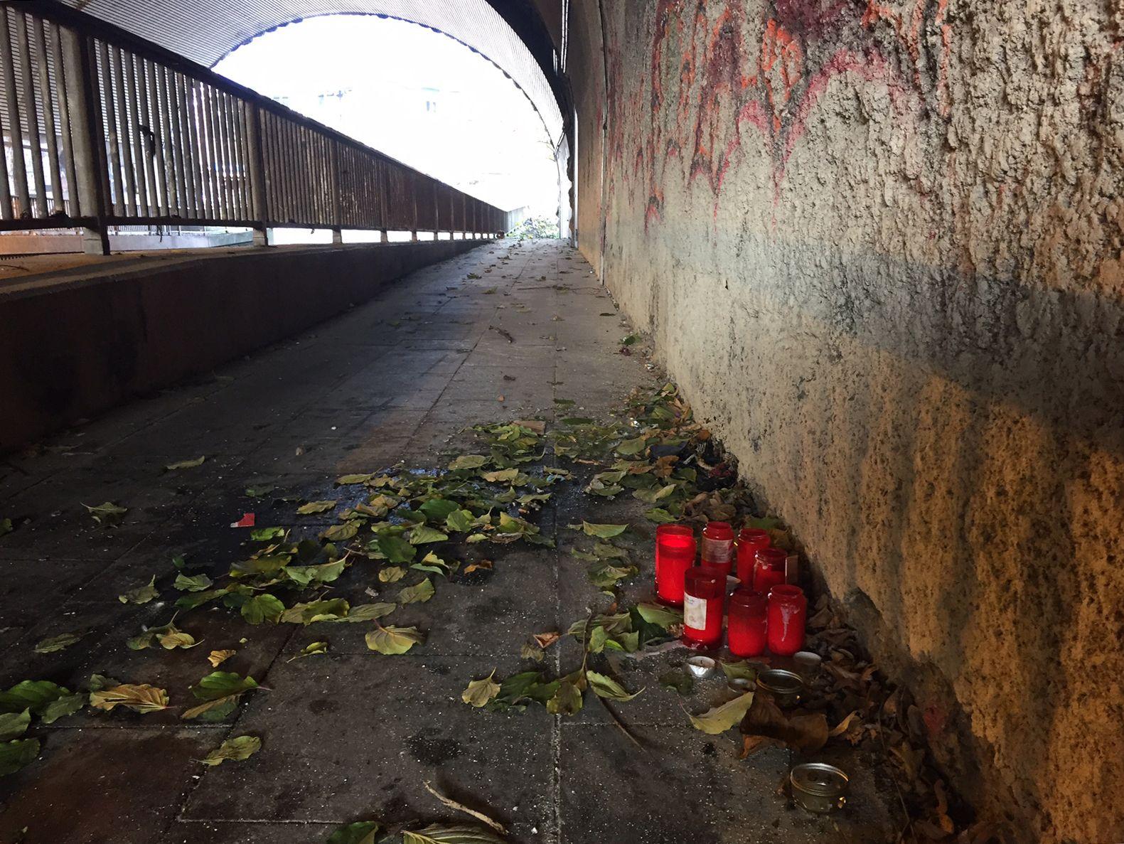 Toter Obdachloser/ Köln